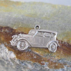 Sterling Silver Charm 1912 CHALMERS Car